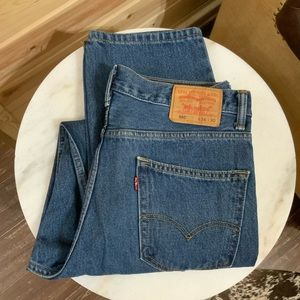 Levi's 550 relaxed jeans size 34X30 EUC